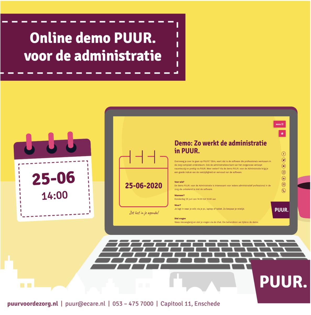 webinar PUUR. voor administratie
